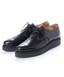 DIGOUT/ディガウト DIGOUT REE (Pointed Toe Rubber Sole Shoes) (BLACK)/502101939