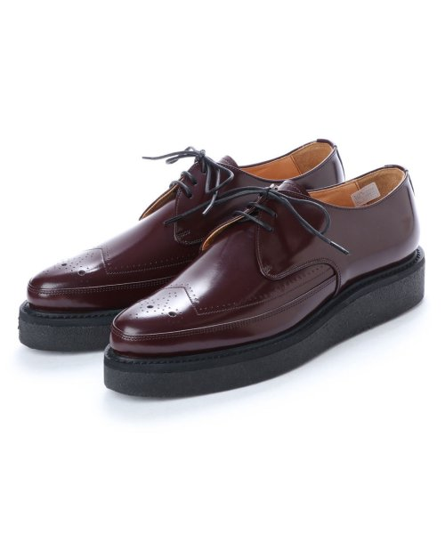 DIGOUT(ディガウト)/ディガウト DIGOUT REE (Pointed Toe Rubber Sole Shoes) (WINE)/DI4937BU00002