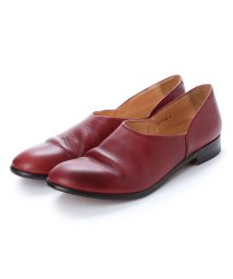 DIGOUT/ディガウト DIGOUT CHET (Washed Side Slit Shoes) (RED BROWN)/502101948