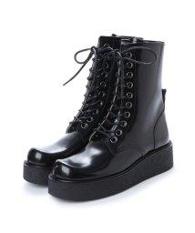 DIGOUT/ディガウト DIGOUT GHERCI (10 Eye Rubber Sole Boots) (BLACK)/502101950