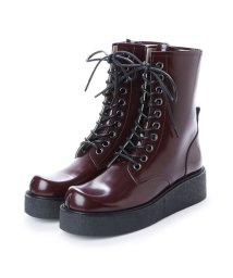 DIGOUT/ディガウト DIGOUT GHERCI (10 Eye Rubber Sole Boots) (WINE RED)/502101951