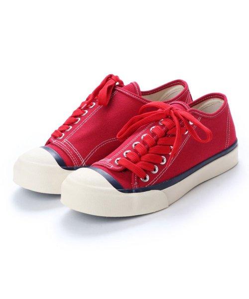 DIGOUT(ディガウト)/ディガウト DIGOUT DEAN (Low-Top Vulcanized Sneakers) (RED)/DI4937BU00033