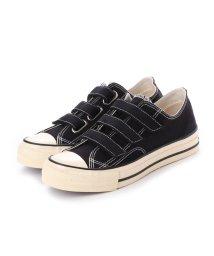 DIGOUT/ディガウト DIGOUT JULIAN (Low-Top Vulcanized Sneakers) (BLACK)/502101958