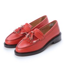 DIGOUT/ディガウト DIGOUT ELTON (Tasseled Loafers) (RED)/502101972