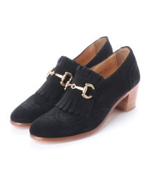 DIGOUT/ディガウト DIGOUT FLORENCE (Chunky Heels Bit Loafers) (BLACK)/502101975