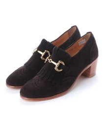 DIGOUT/ディガウト DIGOUT FLORENCE (Chunky Heels Bit Loafers) (DARK BROWN)/502101978