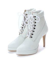 DIGOUT/ディガウト DIGOUT BEY (Pin Heels Work Boots) (WHITE)/502101980