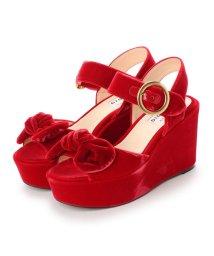 DIGOUT/ディガウト DIGOUT OLIVIA (Platform Sandals) (RED)/502101988