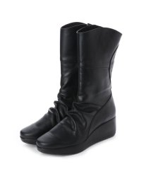 Espresso/エスプレッソ Espresso 楽ちん ふかふか 3E厚ソールデザインブーツ (ブラック)/502103580