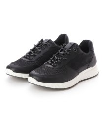 ECCO/エコー ECCO ST.1 M Sneaker (BLACK/BLACK)/502105243