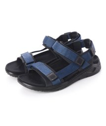 ECCO/エコー ECCO Mens X-TRINSIC Flat Sandal (BLACK/TRUE NAVY)/502105277