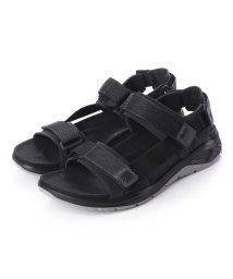 ECCO/エコー ECCO Mens X-TRINSIC Flat Sandal (BLACK/BLACK)/502105278