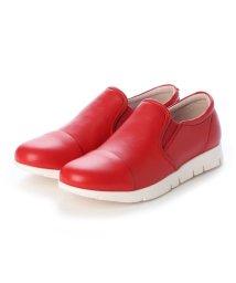 FIT JOY/フィットジョイ FIT JOY 軽量 slip-on スニーカー (RED)/502113977