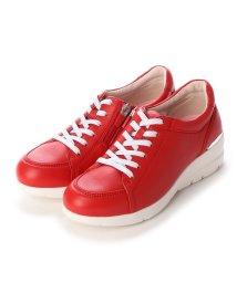 FIT JOY/フィットジョイ FIT JOY 軽量 6 eyelet スニーカー (RED)/502114031