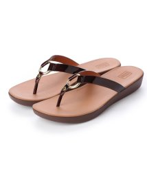 FITFLOP/フィットフロップ fitflop HOOPLA TORTOISESHELL (Chocolate Brown Turtle)/502114215