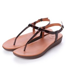 FITFLOP/フィットフロップ fitflop TIA TORTOISESHELL (Chocolate Brown Turtle)/502114216