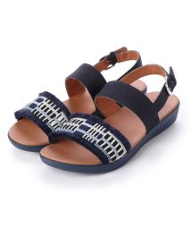 FITFLOP/フィットフロップ fitflop BARRA ART-DENIM (Illusion blue)/502114237