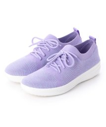 FITFLOP/フィットフロップ fitflop F-SPORTY UBERKNIT SNEAKERS (Frosted Lavender Mix)/502114249