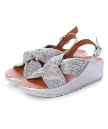 FITFLOP/フィットフロップ fitflop TWISS CRYSTAL SANDAL (Silver)/502114319