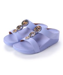 FITFLOP/フィットフロップ fitflop HALO FLOWERCRUSH SLIDE (Frosted Lavender)/502114328