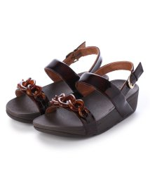 FITFLOP/フィットフロップ fitflop LOTTIE TORTOISESHELL CHAIN (Chocolate Brown Turtle)/502114341