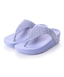FITFLOP/フィットフロップ fitflop LOTTIE CHEVRON (Frosted Lavender)/502114349
