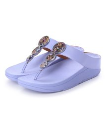 FITFLOP/フィットフロップ fitflop HALO FLOWERCRUSH (Frosted Lavender)/502114356