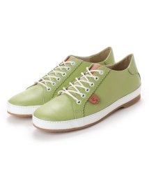 FOOT STYLE/フットスタイル FOOT-STYLE FS-5107 (ライトグリーン) 革巻きレザースニーカー/502114448