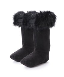 HUNTER/ハンター HUNTER KIDS ORG BS FAUX FUR CUFF (BLK)/502119803