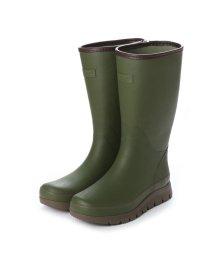 Jolly Walk/ジョリーウォーク Jolly Walk 軽量 防滑 ブーツの中通気性良好 レインブーツ JW268 (KHAKI)/502132576