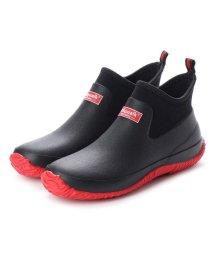 Jolly Walk/ジョリーウォーク Jolly Walk スポーティ レインブーツ (防滑・耐候性・耐油・耐屈曲 アウトソール)JW218 (BLACK/RED)/502132583