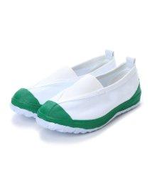 K's PLUS/ケーズプラス K's PLUS 上履き 子供用・大人用 学校靴・軽作業 (GREEN)/502135954