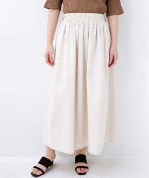 haco!/楽してスタイルが決まる 涼やか麻混スカート/502169604