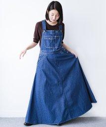 haco!/Wrangler ロング丈フレアーサロペットスカート/502169611