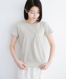 haco!/Lady Lee ポケット付きコンパクトフィットTシャツ/502169612