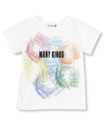 branshes/【吸水速乾】カラフルプリント半袖Tシャツ/502248471