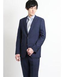 TAKA-Q/千鳥 紺 2パンツスーツ スリムフィット/502249559