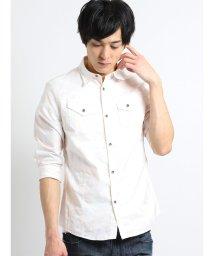 semanticdesign/オックスムラプリント レギュラーカラー7分袖シャツ/502249605