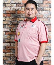 GRAND-BACK/【大きいサイズ】バジエ/VAGIIE ワッペン付半袖ポロシャツ/502249685