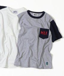 coen/【GO OUT7月号掲載】【女性にも人気】MEI(メイ)別注ポケットTシャツ/502252529