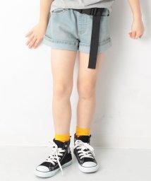 devirock/キッズ 子供服 デニムショートパンツ 女の子/502252740