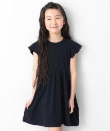 devirock/キッズ 子供服 フレア袖ワンピース 女の子/502252749