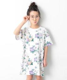 devirock/キッズ 子供服  『ヒナタ』着用アイテム 総柄BIGシルエットワンピース 女の子/502252754