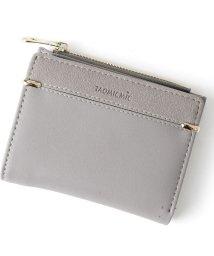 REAL STYLE/フェイクレザー切替デザイン二つ折り財布/502253252