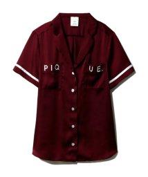 gelato pique/サテンロゴシャツ/502253392