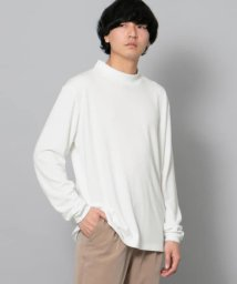 SENSE OF PLACE/ポンチモックネックTシャツ/502253674