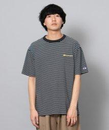 SENSE OF PLACE/Champion 別注ボーダーTシャツ/502253678