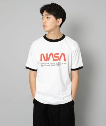 SENSE OF PLACE/NASA 別注プリントTシャツ(5分袖)/502253759