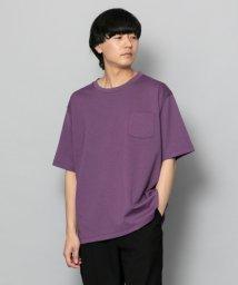 SENSE OF PLACE/ポンチポケットTシャツ(5分袖)/502253762