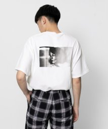SENSE OF PLACE/フォトプリントTシャツ(5分袖)/502253764